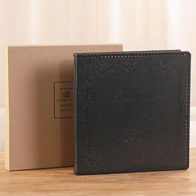 Album bìa da cao cấp cỡ 32x29cm , có hộp đựng , có ảnh thật