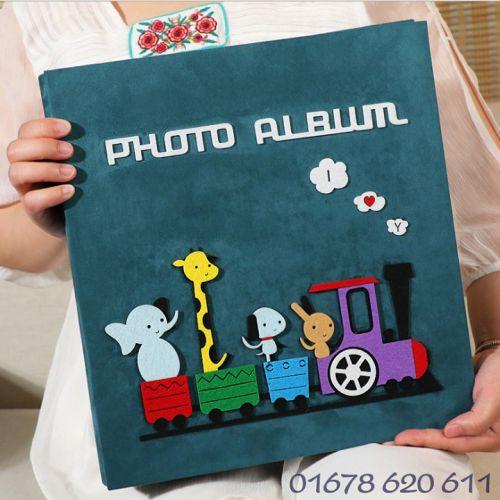 Album 10x15 để 600 ảnh cỡ 10x15 và 9x13, album dạ cao cấp sang trọng