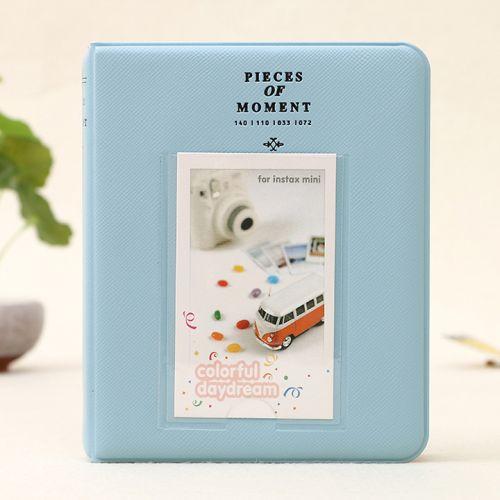 Album Ảnh Polaroid mini 64 ảnh 6x9 bìa màu trơn có chữ
